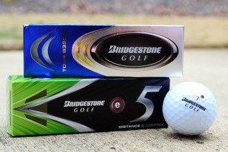 Bridgestone e5 and B330-S balls