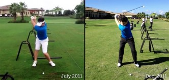 Year end swing comparison