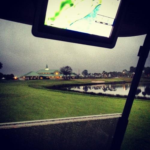 Finishing in the dark Wanamaker PGA Village